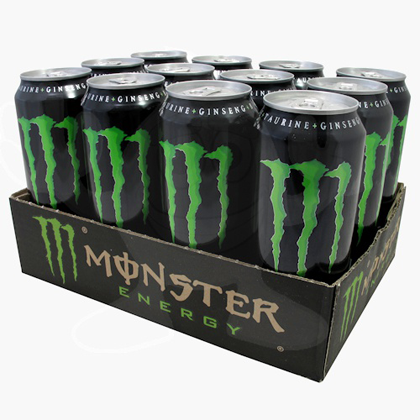 Monster Energy 12/500ML