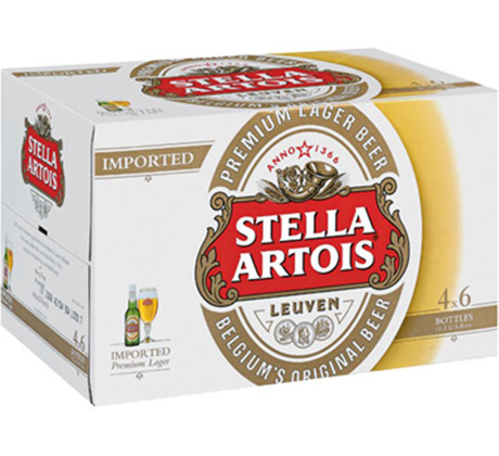 Stella Artois Larger 24/330mL