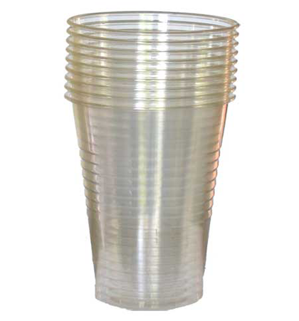 500ML Clear Plastic Cups