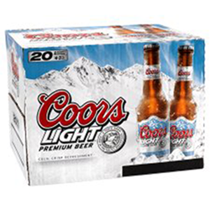 Coors Light 20-330ML