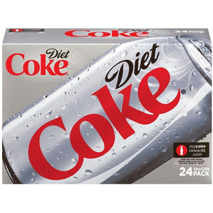 Diet coke 24/330ML