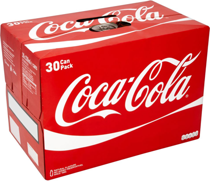 Coca Cola Cans 30 330ml Uniboozer